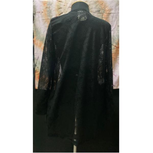casaco renda